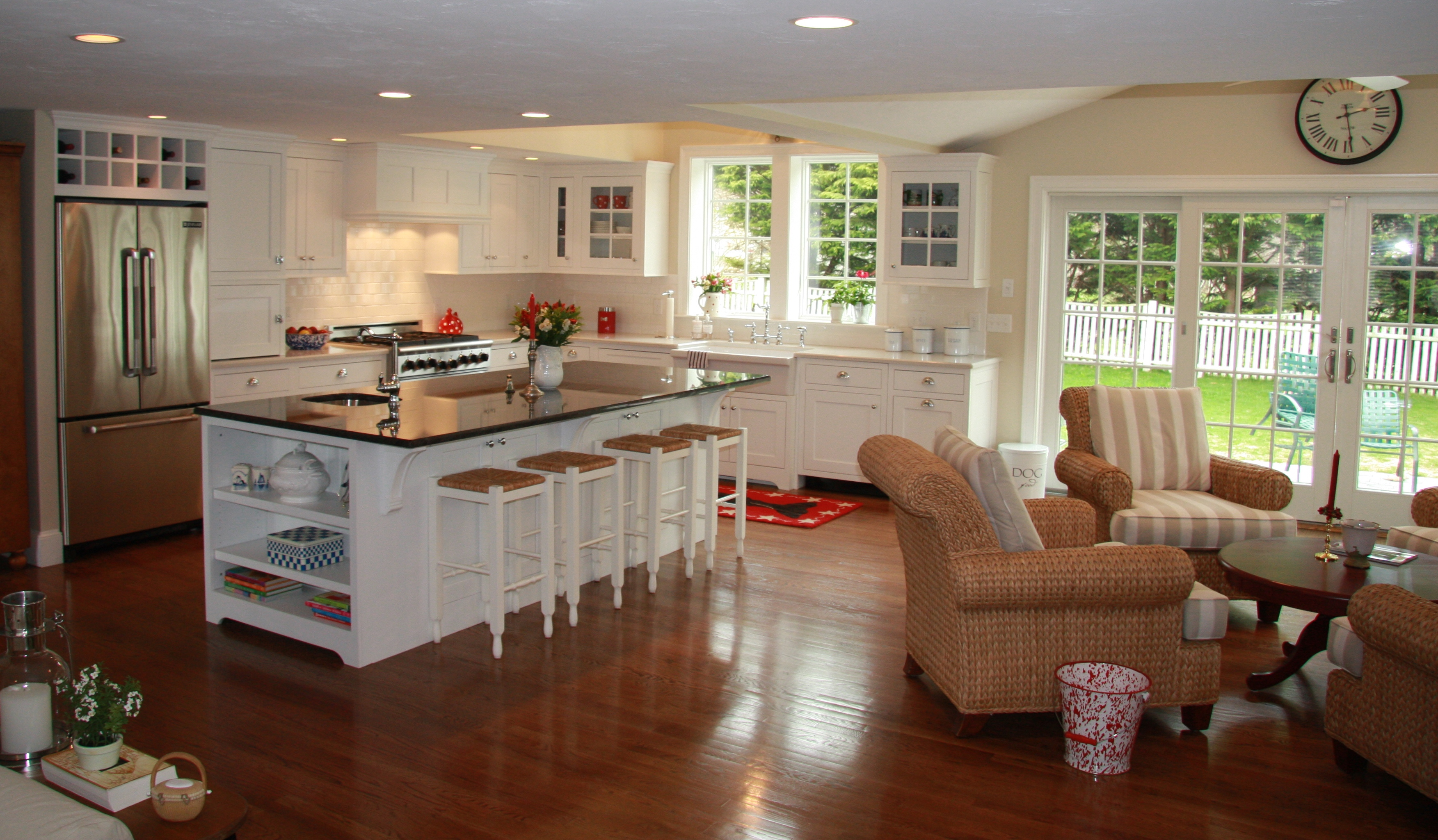 Nantucket style kitchen wudwurks custom cabinets for Nantucket style kitchen